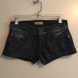 GUESS jean shorts, size 26, barely worn!